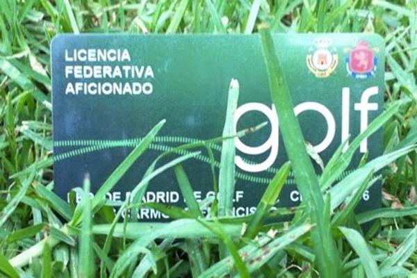 Licencia de golf