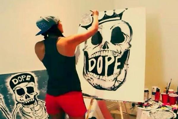 Michelle Wie: arte dentro y fuera del campo (Incluye VÍDEO)