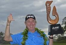 """Jiménez, """"el hombre más interesante del mundo"""", suma su segundo título en el Champions Tour"""