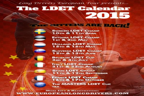 El Circuito Europeo de bombarderos (LDET) presenta su calendario para el 2015