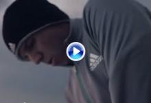 Sergio García lucha contra los elementos en el nuevo anuncio de Adidas (VÍDEO)