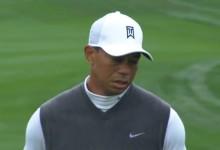 Tiger entregó su peor tarjeta en 317 torneos disputados. Firmó 82 golpes, once sobre par