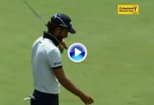 La sutileza de Cañizares quedó reflejada en este magnífico putt. Resumen de la ronda final (VÍDEO)