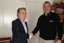 Acuerdo de colaboración entre las Escuelas de Golf de Los Ángeles de San Rafael y los Hermanos Luna