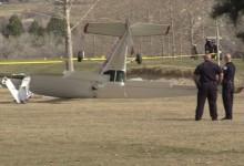 Una avioneta se estrella en la cancha de prácticas de un campo de golf (Incluye VÍDEO)