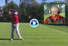 Peter Kostis analizó el swing del extravagante Bill Murray (hándicap 12) en Pebble Beach (VÍDEO)