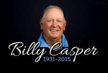 """El """"Big Three"""" rinde su último adiós a Billy Casper, ganador de 51 títulos en el PGA Tour"""