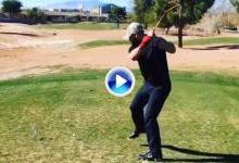 Cañonazo del jugador de beisbol Bryce Harper a lo Happy Gilmore, alcanzó más de 310 metros (VÍDEO)