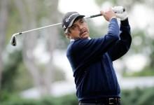 """El """"Gato"""" Romero, ganador ocho veces en el Tour Europeo, cambia la bolsa de palos por la política"""