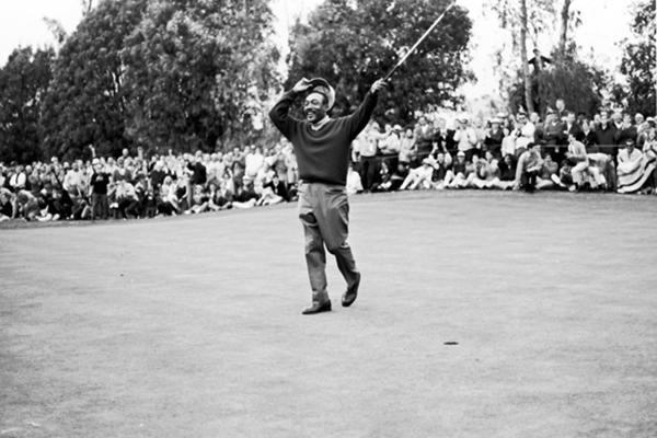 En 1969 Charlie Sifford ganó el Abierto de Los Ángeles Foto: Howard Morehead