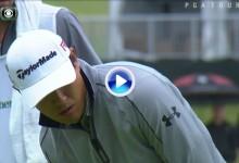 Hanh, se apuntó su primera victoria en el PGA gracias a este excelente putt desde 8 m. (VÍDEO)