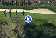 Esta semana se volverán a ver golpes imposibles desde los acantilados de Pebble Beach (VÍDEO)