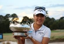 Lydia Ko sigue batiendo registros tras imponerse en el Open de Australia. Recari, decimosexta