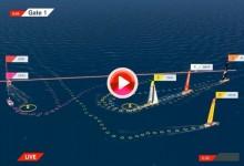 Volvo Ocean Race: Vea los mejores momentos de la 4ª etapa en su salida (VÍDEO)