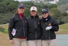 El fuerte viento no impide que el equipo español femenino se ponga al frente de la Copa Sotogrande