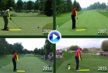 Peter Kostis comparó el swing de Tiger Woods del 2015 con el del 2000, 2007 y 2013 (VÍDEO)