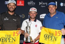 Premio para Sullivan, Wall y Howell: obtienen billete a St. Andrews