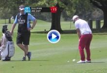 ¿Quién dijo que el golf es difícil? Golpes como este dieron el triunfo a Andy Sullivan (VÍDEO)