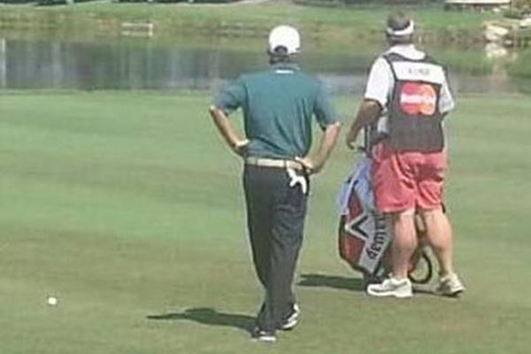 "Duane Bock con sus ""famosos"" pantalones"