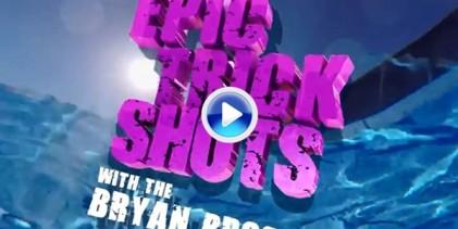 Los Bryan Bros. dan un repaso a los Trick Shots más épicos y disparatados de su carrera (VÍDEO)