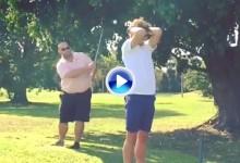 Hay que tener mucha confianza en un amigo para atreverse a hacer esto (VÍDEO)