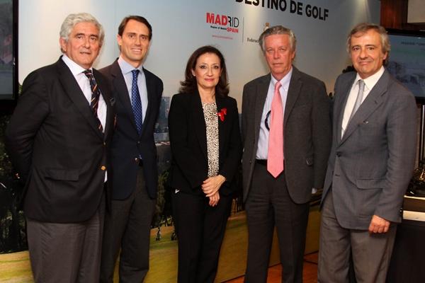 G. Escauriaza, A. Segovia, C. González, I. Guerras, J. Castillo. Foto: Fernando Herranz