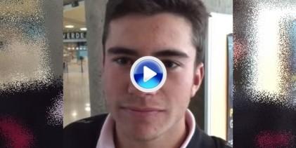 Iván Cantero dedica su victoria en Canarias a un amigo fallecido recientemente (VÍDEO)