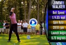 Vea el swing a cámara super lenta de Jimmy Walker, campeón en Texas y líder de la FedEx Cup (VÍDEO)