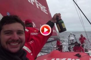 El paso del MAPFRE por Cabo de Hornos, en imágenes (VÍDEO)