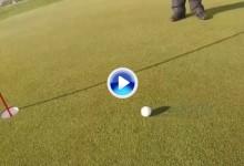 El viento hace estragos en Madeira, vean como rueda la bola sin necesidad de tocarla (VÍDEO)