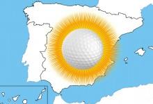 El sol se instala en España en esta Semana Santa. Una buena ocasión para disfrutar del golf