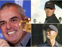 """McGinley afirma que McIlroy  tendrá """"mucha presión encima"""" si Woods no juega en Augusta"""
