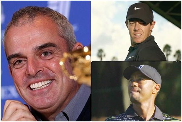 McGinley, Tiger y McIlroy