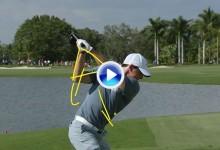 Frank Nobilo de Golf Channel analizó el swing de Rory McIlroy en el Cadillac Championship (VÍDEO)