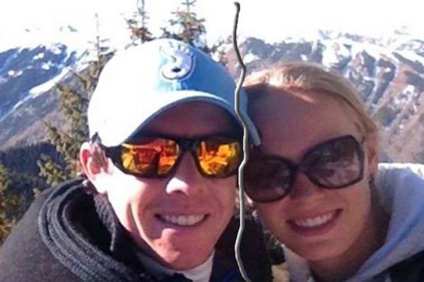 Rory McIlroy y Caroline Wozniacki en Aspen, eran otros tiempos
