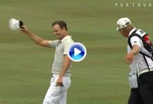 ¡Increible! Zach Johnson anota un segundo y espectacular albatros en el Arnold Palmer (VÍDEO)