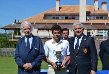 Alejandro del Rey, Campeón de España Sub 18 después de firmar la mejor cartulina de la semana