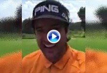 Bubba se pasa a la magia: hace desaparecer la cabeza del driver en un intento de Trick Shot (VÍDEO)