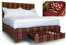 La cama con la que sueñan todos los amantes del golf sale a la venta por 102.500 dólares