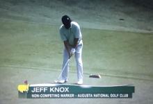 Knox (54 años), marcador oficial de Augusta que ya ganó a Sergio en su momento podría jugar con Day
