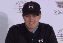 Spieth tiene otro récord a tiro: podría convertirse en el golfista más joven en ganar una prueba WGC