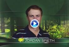 Lección de golf de Jordan Spieth en Augusta. La segunda jornada del tejano resumida en 2′ (VÍDEO)
