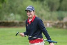 La amateur Luna Sobrón afianza su liderato en el Ribeira Sacra Ladies Open. Mª Palacios a dos golpes