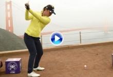 Lydia Ko nos enseña San Francisco golpe a golpe, desde el Golden Gate a la isla de Alcatraz (VÍDEO)