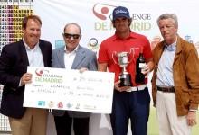 La imagen más codiciada fue para Nacho Elvira: un título, un trofeo y 25.600€