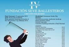 Los Ángeles de San Rafael acoge este domingo, 12 de abril, el IV Desafío Fundación Seve Ballesteros