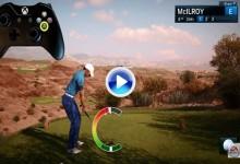 Rory McIlroy PGA Tour, el videojuego de golf más realista de la historia, ya tiene tráiler (VÍDEO)