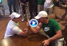 Rory McIlroy pierde un pulso contra Brad Dalke, el niño prodigio estadounidense (VÍDEO)