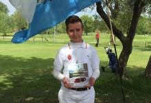 Thomy Artigas suma y sigue: nuevo triunfo en el Open de San Marino de Pitch & Putt