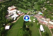 El Colonial Country Club a vista de pájaro. ¡Alucinante! (VÍDEO)